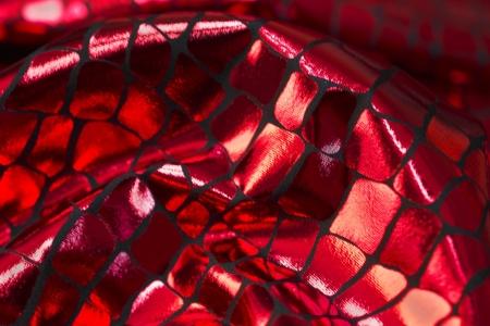 DZIANINA LAMA CRYSTAL BRICK RED