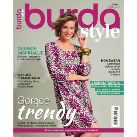 BURDA - 5/2021 - GORĄCE TRENDY