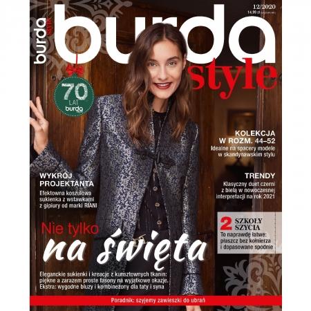 BURDA - 12/2020 - NIE TYLKO NA ŚWIĘTA