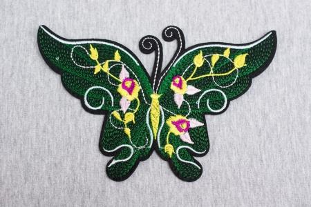 APLIKACJA BUTTERFLY & FLOWERS GREEN