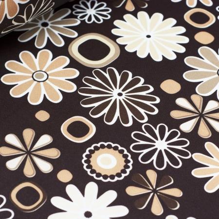 TKANINA MARKIZOWA DESERT FLOWERS