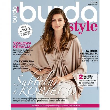 BURDA - 1/2020 - SUBTELNIE I KOBIECO