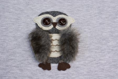 APLIKACJA OWL FUR AND FELT