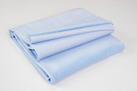 COTTON VELVET CASHMERE BLUE