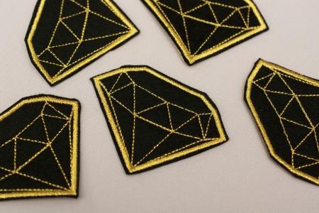 APLIKACJA TERMOPRZYLEPNA DIAMOND GOLD