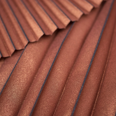 PANEL PLISOWANY GOLD BROWN