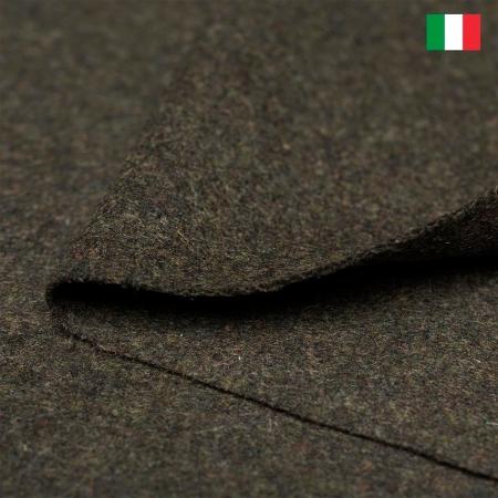 TKANINA WEŁNIANA ITALIA CIEMNA OLIWKA