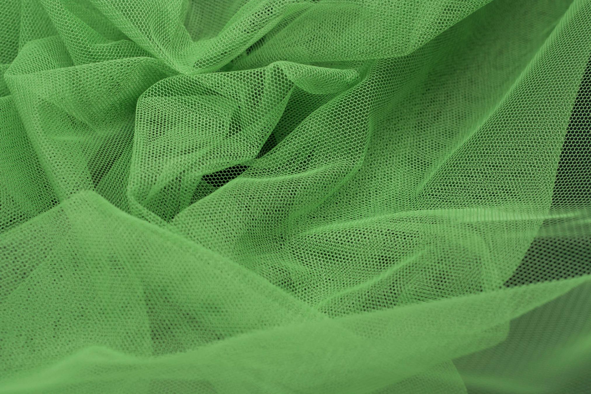 Tiul Bis Zielony Tiul Bis Textilmar