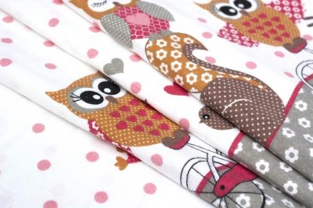 FLANELA OWLS & SPARROWS