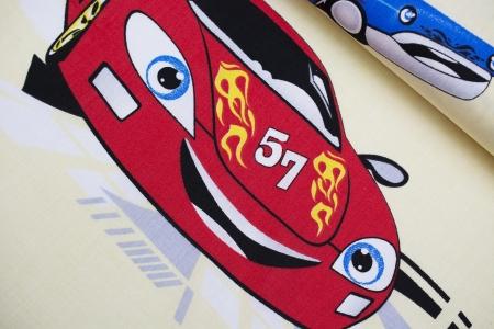 PŁÓTNO BAWEŁNIANE RACE CAR