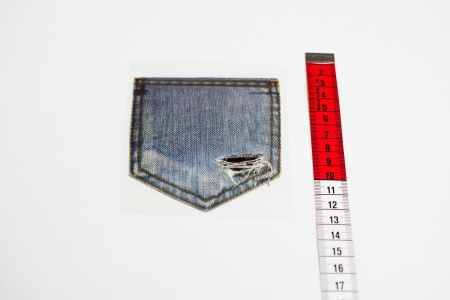 NAPRASOWANKA DENIM POCKET