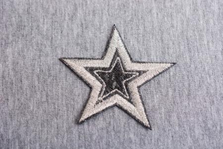APLIKACJA STAR GREY/ECRU