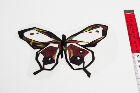 NAPRASOWANKA BUTTERFLY BURNT RED