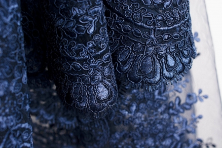 KORONKA GIPIUROWA HAIRY PATRIOT BLUE