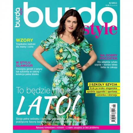BURDA - 6/2021 - TO BĘDZIE MOJE LATO!