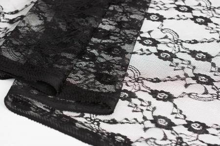 KORONKA FLORALIS BLACK