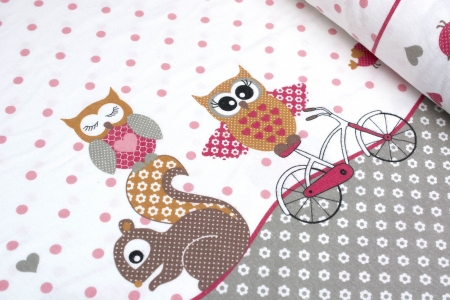 FLANELA OWLS & SPARROWS