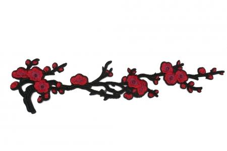APLIKACJA LONG RED FLOWERS