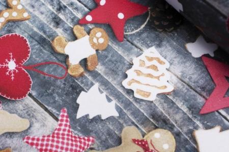TKANINA DEKORACYJNA CHRISTMAS TIME