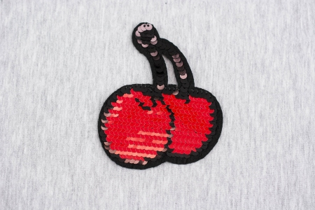 APLIKACJA CHERRY LITTLE RED/PINK