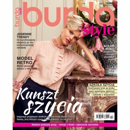 BURDA - 10/2021 - KUNSZT SZYCIA