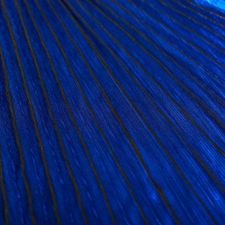 PANEL PLISOWANY SHINING TRUE BLUE