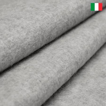 DZIANINA WEŁNIANA ITALIA W SZAROŚCI