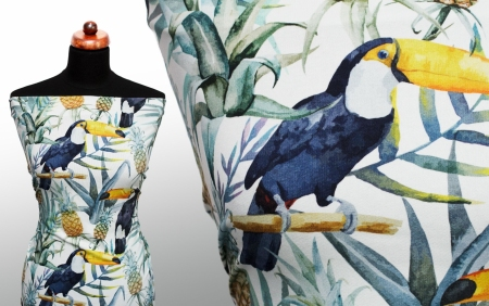 DRESÓWKA TOUCAN & PINEAPPLE