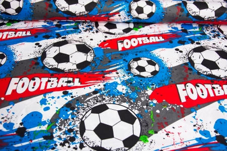 PŁÓTNO BAWEŁNIANE PASSION FOOTBALL