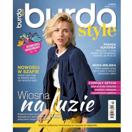 BURDA - 4/2021 - WIOSNA NA LUZIE