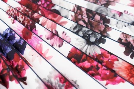 PANEL PLISOWANY SPRING FLOWER
