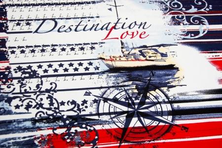 DZIANINA WISKOZOWA DESTINATION LOVE