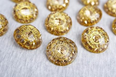 GUZIK PLASTIKOWY GOLD PATTERN #3